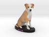 Custom Dog Figurine - Ollie 3d printed