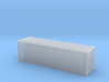1/450 Container 30ftx1 3d printed Shipping Container, 30ft