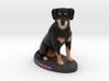 Custom Dog Figurine - Zamboni 3d printed
