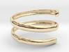 Bamboo ring(Japan 10,USA 5.5,Britain K) 3d printed