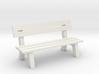 1:43,5 Spur 0 - Parkbank / Park Bench 3d printed