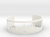 New York Skyline Cuff 3d printed