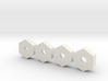 Marui R/C buggy 12mm hex Wheel Adapters for tapere 3d printed