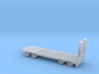 N Scale Construction Equipment Trailer 3d printed
