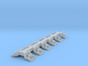 O-AJRB-12 Array of 12 adjustable Rail Braces 3d printed