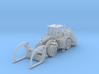 Cat 988H Wheeled Log Loader Z Scale 3d printed Cat 988H Wheeled Log loader z scale