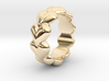 Heart Ring 14 - Italian Size 14 3d printed