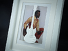 Gibson SG guitar for photo frame 3d printed Give it to someone who never played an SG