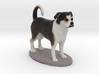 Custom Dog Figurine - Panda Bear 3d printed