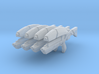 M8 Avenger (1:18 Scale) 4 Pack 3d printed