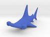Cartoon Hammerhead shark 3d printed