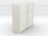 A 011 sliding closet Schiebeschrank 1:87 3d printed