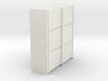 A 015 sliding closet Schiebeschrank 1:87 3d printed