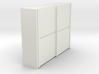 A 018  sliding closet Schiebeschrank 1:87 3d printed