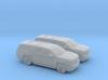1/160 2X 2015 Chevrolet Suburban 3d printed