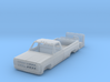 1/64 1980's Chevy K20 / K30 pickup truck body with 3d printed