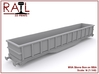 N Scale MVA Stone Box 3d printed Render of the MVA Model