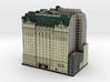 New York Plaza Hotel 8x4 3d printed