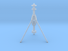 New Horizons Low/Medium Gain Antenna 1/24 3d printed