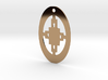 Adinkra Collection -Intelligence Pendant (metals) 3d printed