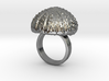 Urchin Statement Ring - US-Size 6 1/2 (16.92 mm) 3d printed