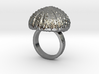 Urchin Statement Ring - US-Size 7 (17.35 mm) 3d printed