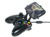 Xbox 360 controller & Sharp Aquos Crystal 2 - Fron 3d printed Side View - A Samsung Galaxy S3 and a black Xbox 360 controller