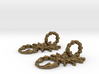 SCORPO earrings 3d printed