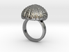 Urchin Statement Ring - US-Size 11 (20.68 mm) 3d printed