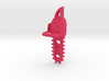 Kawaii Heart Chainsaw 7.6cm Charm 3d printed
