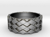 Futuristic Diamond Ring Size 12 3d printed