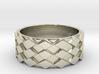 Futuristic Diamond Ring Size 13 3d printed