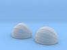 2x Korbmarkise rund 20 mm (N 1:160) 3d printed