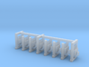 N Scale Stop-Go Signal 8pc 3d printed