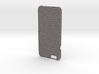 Iphone6 Cover Open Style (Leather Grey) 3d printed