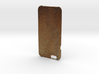Iphone6 Leather Wild Brown 3d printed