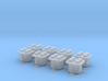 TelephoneJackBox 8pcs (repaired) 3d printed