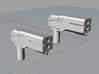 Hand Pistols 3d printed