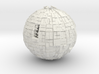 Borg Sphere 3d printed