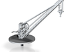 Z Scale Crane 3d printed