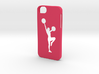 Iphone 5/5s  cheerleader case  3d printed