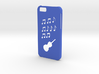 Iphone 6 Music case 3d printed