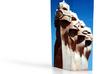 Gaudi Faces  Sheared 6in 3d printed