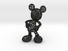 Mickey Voronoi 100mm 3d printed