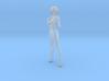 1:24 Short Haired Girl-001 3d printed