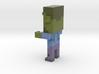 Colony servers figures: Zombie 3d printed