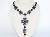 Gothic Cross Necklace Ⅱ 3d printed