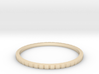 Lined Ring 16.7mm 3d printed