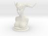 Demon head bust 02 3d printed