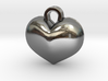 Couples layered Heart charm 3d printed